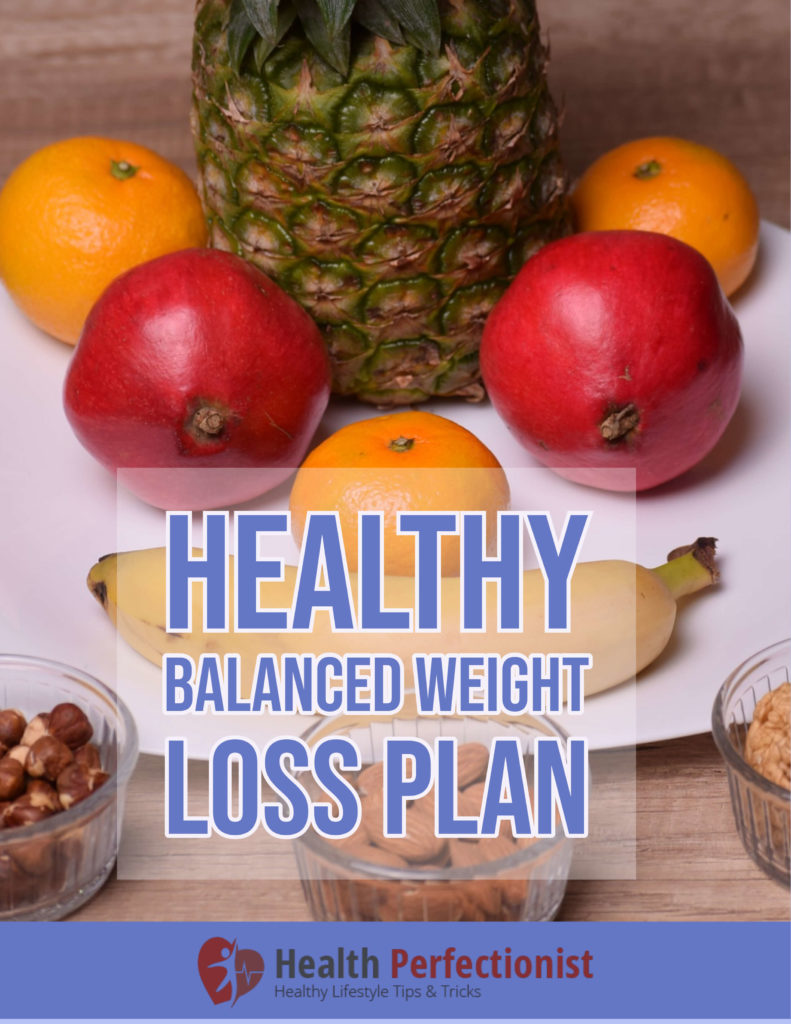 Healthy balanced weight loss plan
