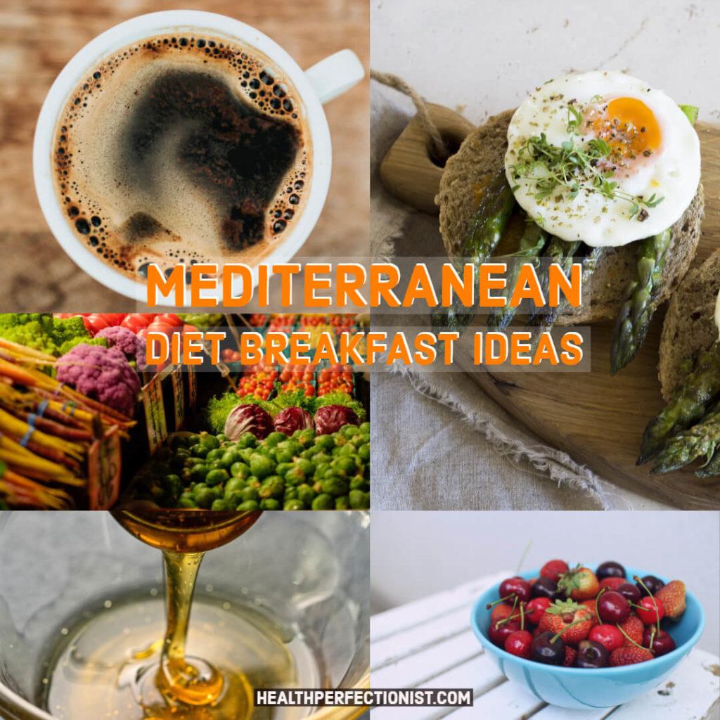 Idées de petit déjeuner au régime méditerranéen